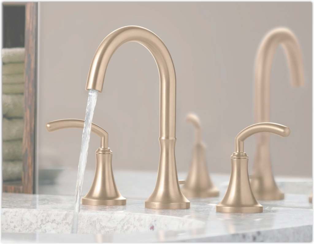 Fabulous Brushed Brass Bathroom Faucet Designs — The Epic Design : Brushed with Luxury Brushed Brass Bathroom Faucet