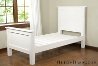 Fabulous Build A Diy Twin Bed ‹ Build Basic inside Diy Beadboard