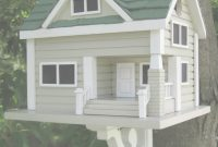Fabulous Bungalow Birdhouse – Grey With Green Roof | Pinterest | Green Roofs inside Bungalows Foley Al