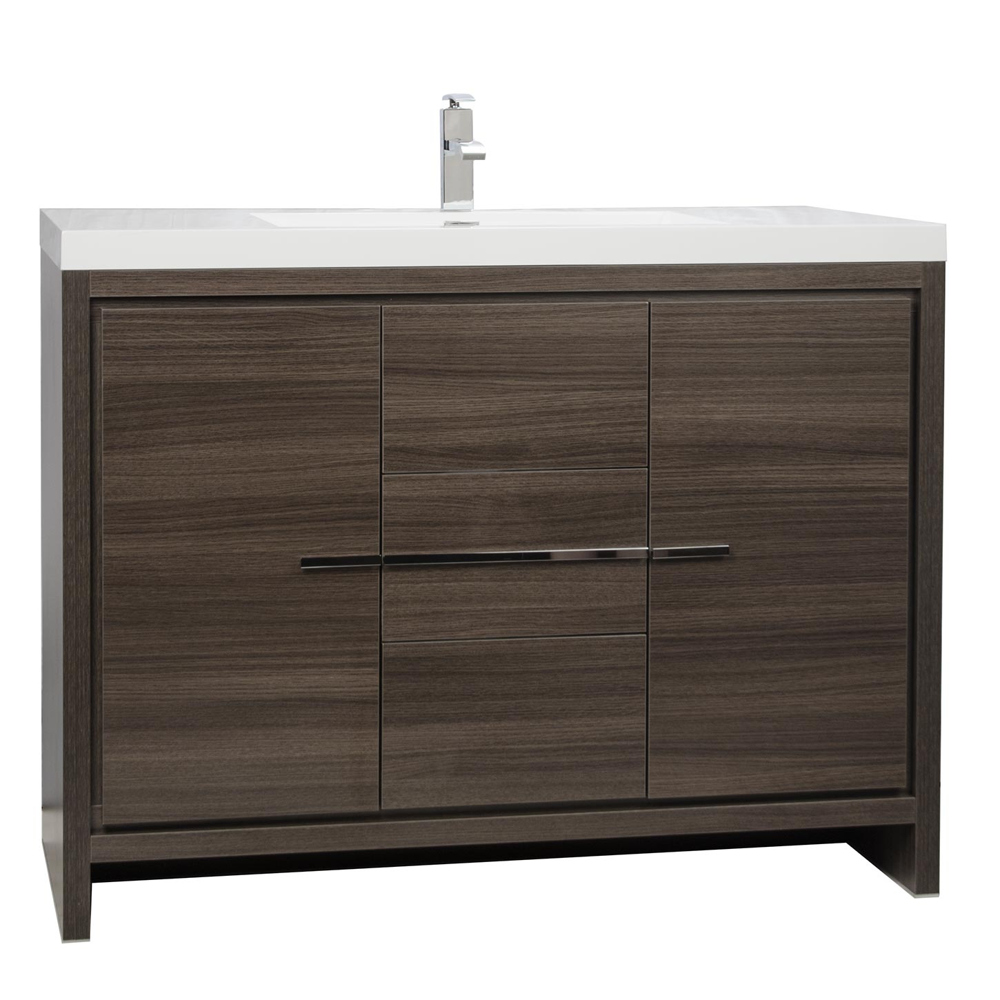 Fabulous Buy Cbi Enna 42 Inch Grey Oak Modern Bathroom Vanity Tn-La1065-Go On within Lovely 42 In Bathroom Vanity