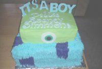 Fabulous Cakes And More: Baby Shower Monsters Inc. intended for New Monsters Inc Baby Shower Cake