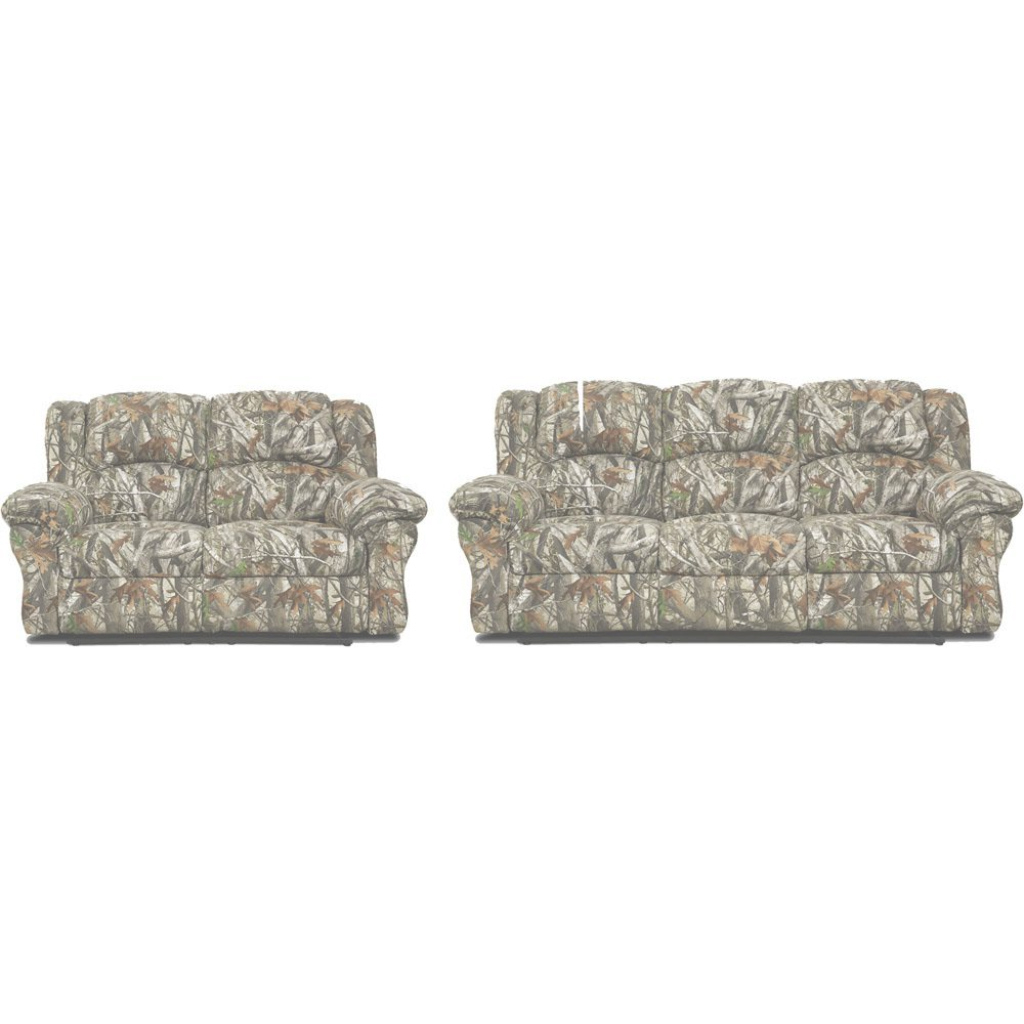 Fabulous Cambridge 2-Piece Camo Sofa, Loveseat Living Room Set-98507A2Pc-Ca pertaining to Luxury Camo Living Room Set