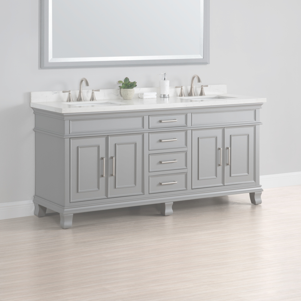 "Fabulous Charleston 72"" Double Sink Vanity 