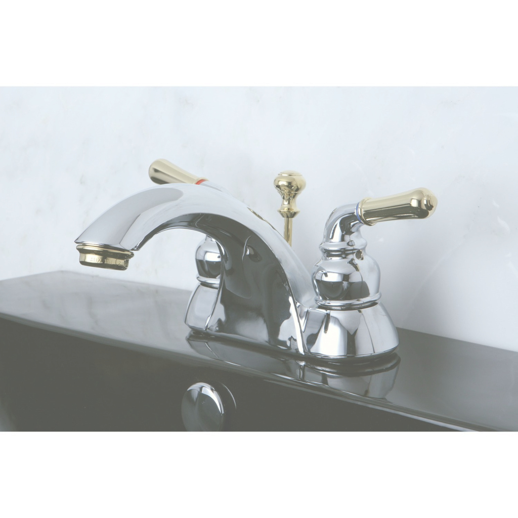 Fabulous Chrome And Brass Bathroom Faucets New Kingston Brass Kb2624 Naples 4 for Chrome And Brass Bathroom Faucets