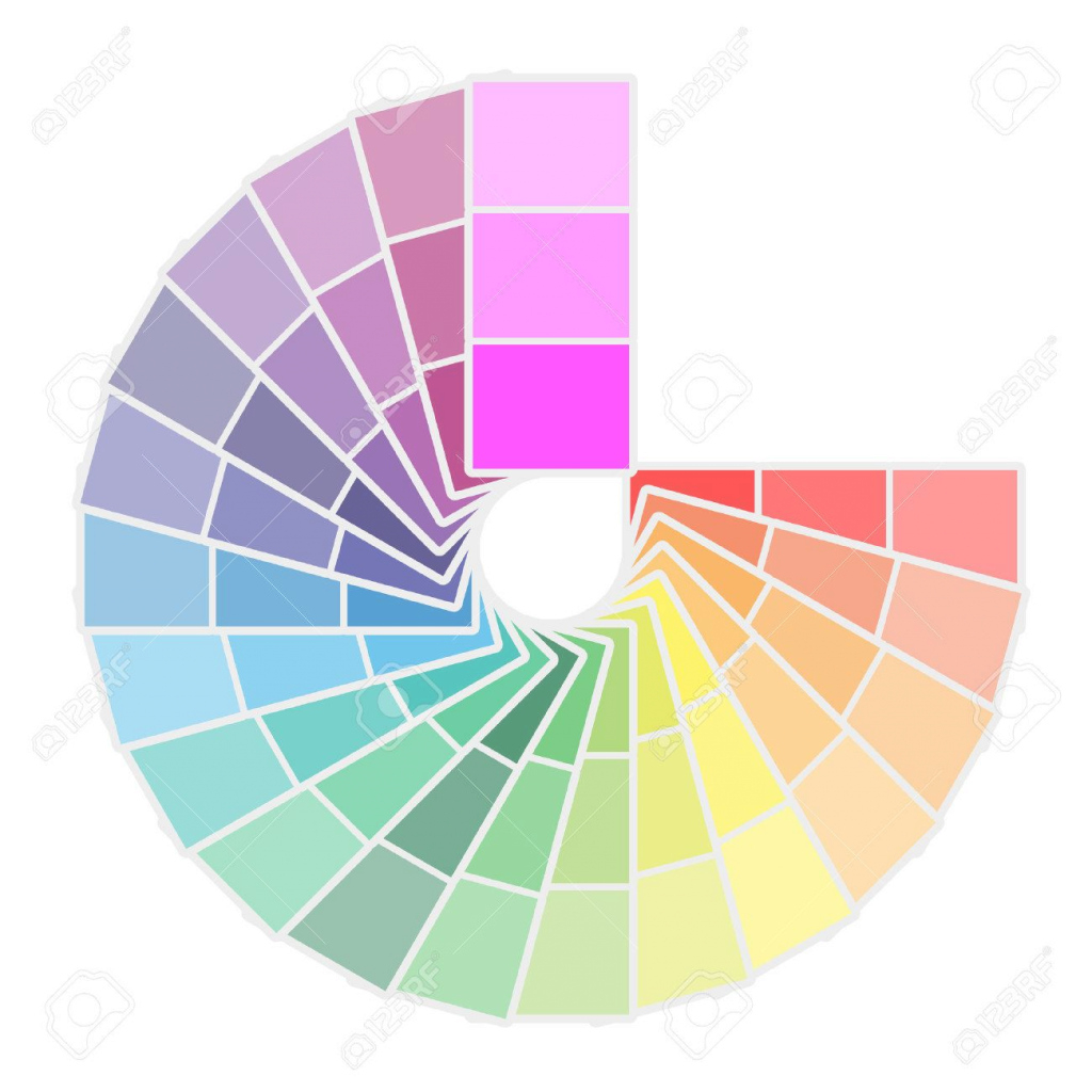 Fabulous Color Palette Icon Isolated On White Background. Vector Illustration for Color Palette Icon