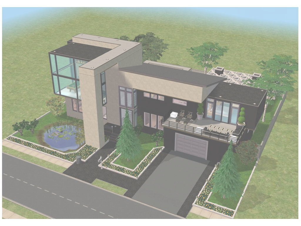 Fabulous Cool House Plans For Sims 3 Homes Floor - Petadunia throughout Sims 3 House Layouts