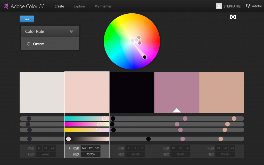 Fabulous Create A Custom Color Scheme From Your Favorite Website throughout Awesome Color Palette Adobe