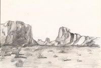Fabulous Desert Landscape Drawing At Getdrawings | Free For Personal Use with regard to Landscape Drawing Ideas