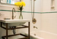 Fabulous Design Reveal! Classic Meets Modern In A San Francisco Bathroom regarding Blue Bathroom Remodel