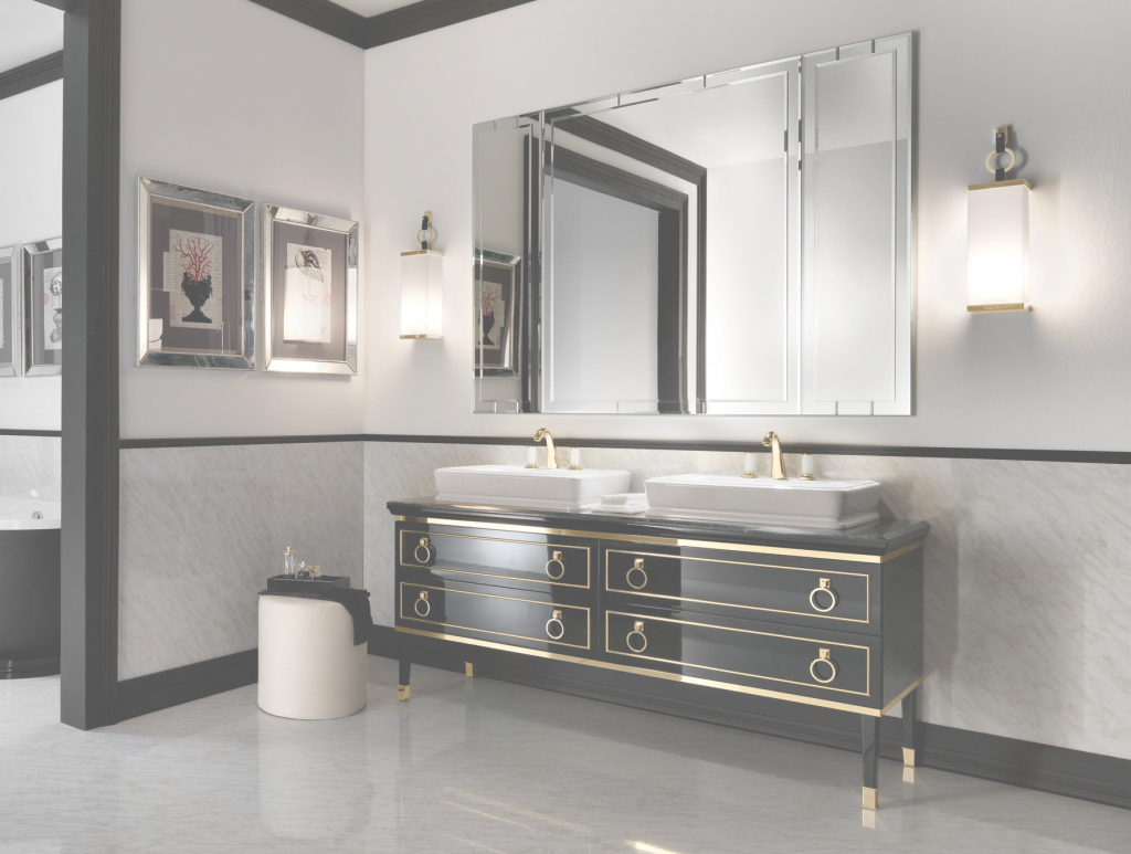 Fabulous Designer Italian Bathroom Vanity & Luxury Bathroom Vanities: Nella throughout Unique Luxury Bathroom Vanity
