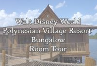 Fabulous Disney World – Polynesian Village Resort Bungalow Room Tour – Youtube inside Disney Polynesian Bungalows