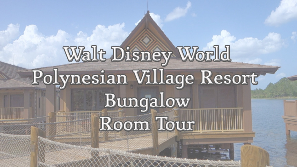 Fabulous Disney World - Polynesian Village Resort Bungalow Room Tour - Youtube inside Disney Polynesian Bungalows