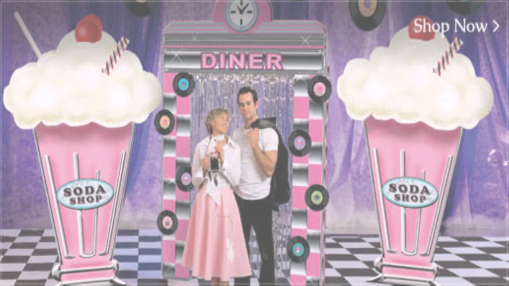 Fabulous Diy 50's Party Decorations - Youtube throughout Lovely 50S Theme Party Decorations