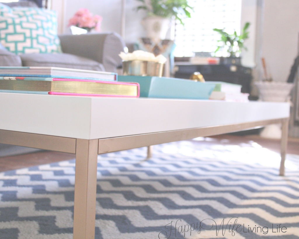 Fabulous Diy Ikea Hack Coffee Table Greek Key Living Room Project - Youtube with Ikea Coffee Table Hack