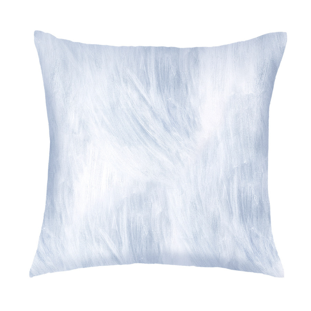 Fabulous Dusky Blue Texture | Large Cushion Cover | The Block Shop in Elegant Dusky Blue