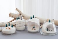 Fabulous Easy, Last-Minute Holiday Decorations: Winter Sugar Dioramas pertaining to Winter Decorations Diy