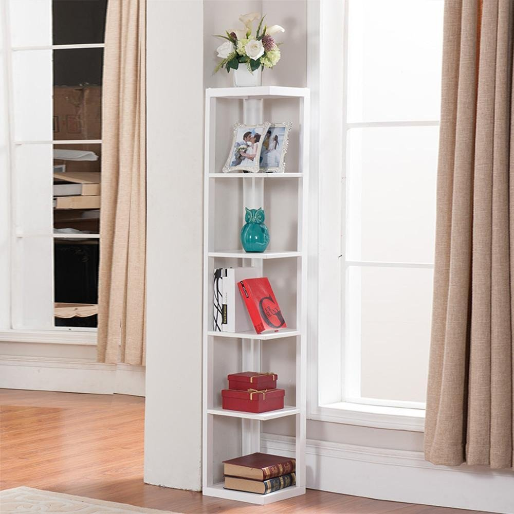 Fabulous Excellent Ideas Corner Rack For Living Room Amazoncom Yaheetech 5 pertaining to Corner Shelves For Living Room