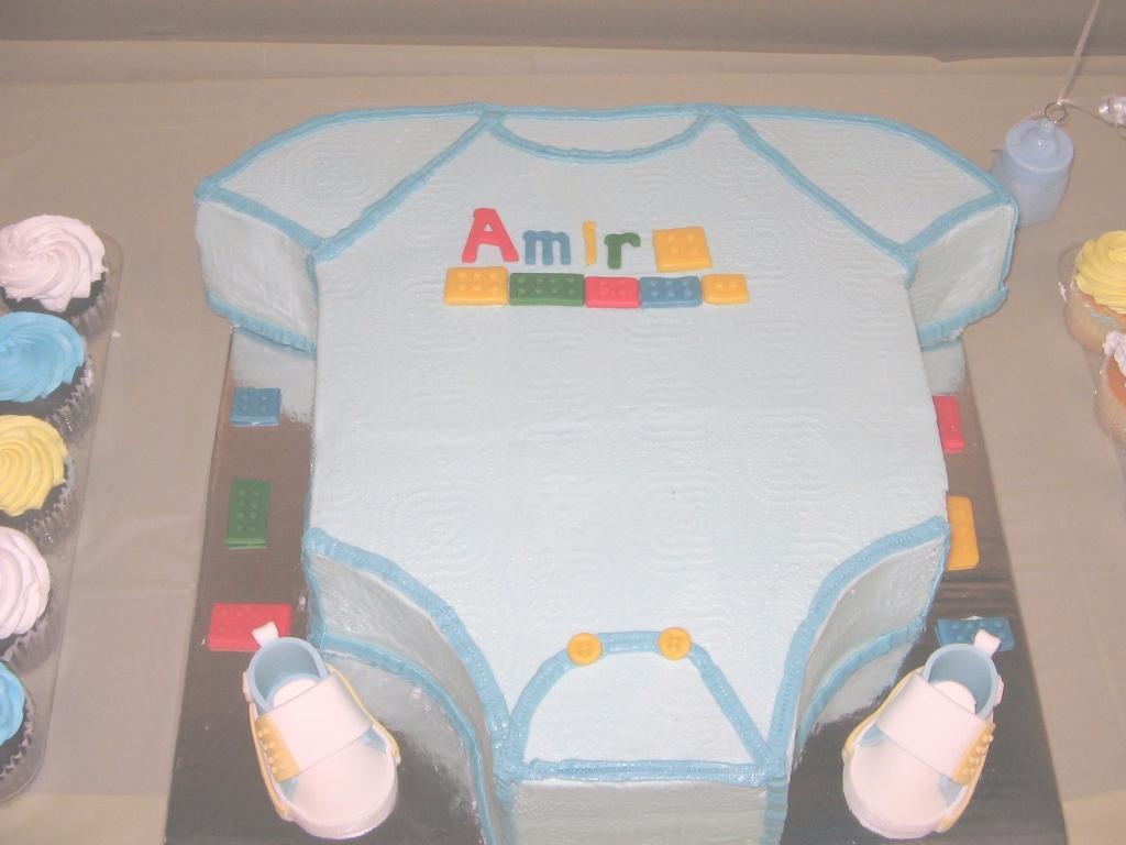 Fabulous Excited Dad Wants Lego Block Baby Shower Cake! | Lego Baby Shower inside Set Lego Baby Shower