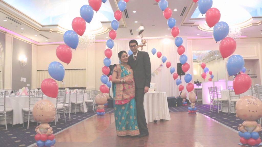 Fabulous Falguni's Babyshower - Indian Babyshower Videographer In Chicago throughout Indian Baby Shower Ideas