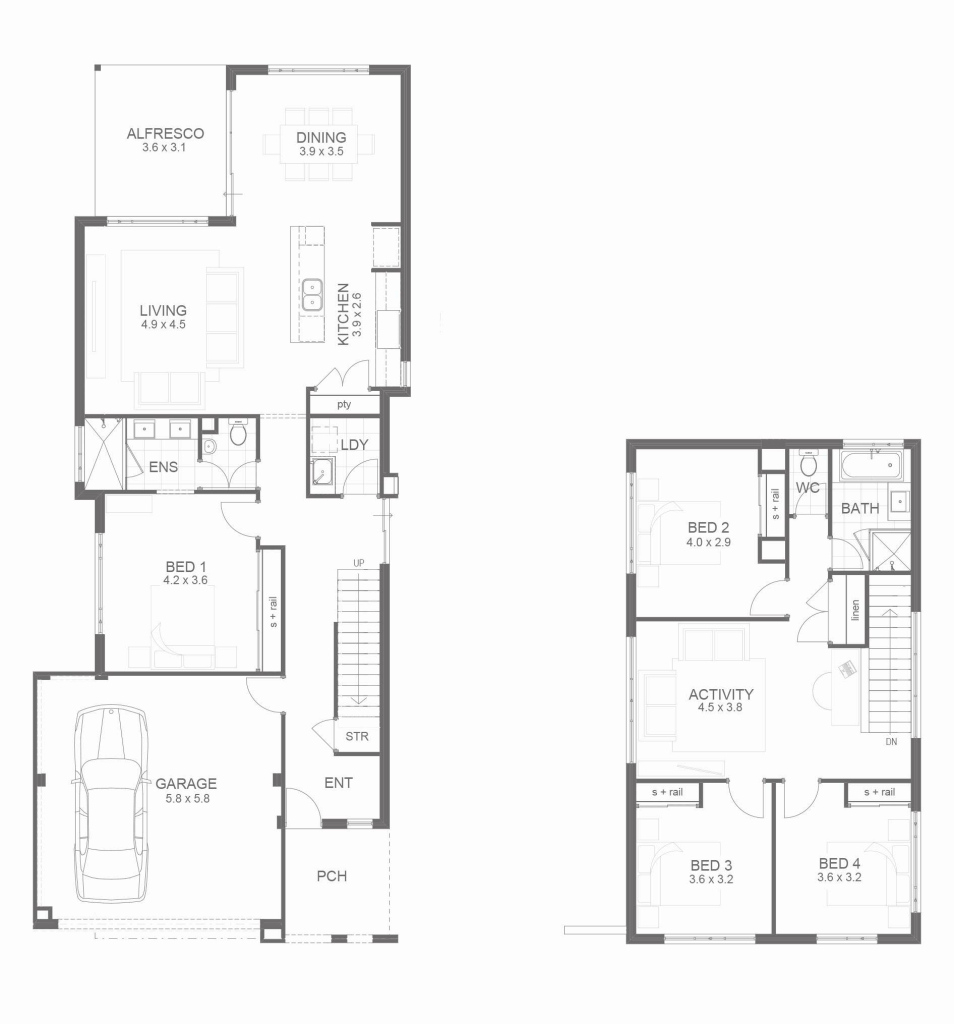 Fabulous Fascinating House Plans Three Bedroom Collection Including Bedrooms within Small Three Bedroom House Plans