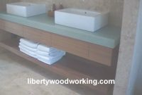 Fabulous Floating Bathroom Sink Vanity Cabinet – Youtube regarding Floating Bathroom Sink