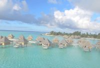 Fabulous Flying Over The Overwater Bungalows In Bora Bora – Dji Phantom 3 intended for Best of Bungalows In Bora Bora