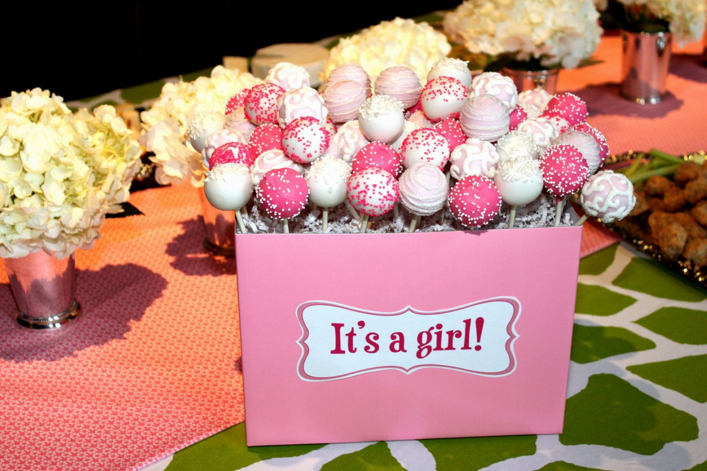Fabulous Food Ideas Girl · Baby Shower For Girl Ideas . (Delightful Baby within Elegant Baby Girl Shower Food Ideas