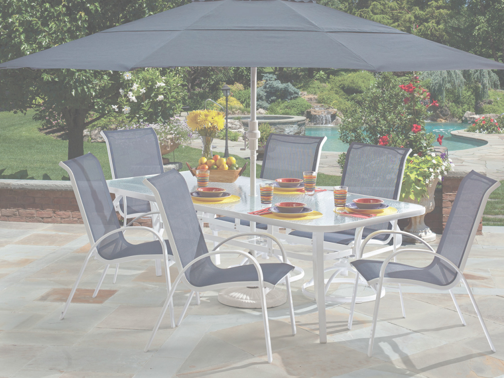 Fabulous Fortunoff Backyard Of Cape Cod Sling 7 Pc Aluminum Dining Set Store for Elegant Fortunoff Backyard Store