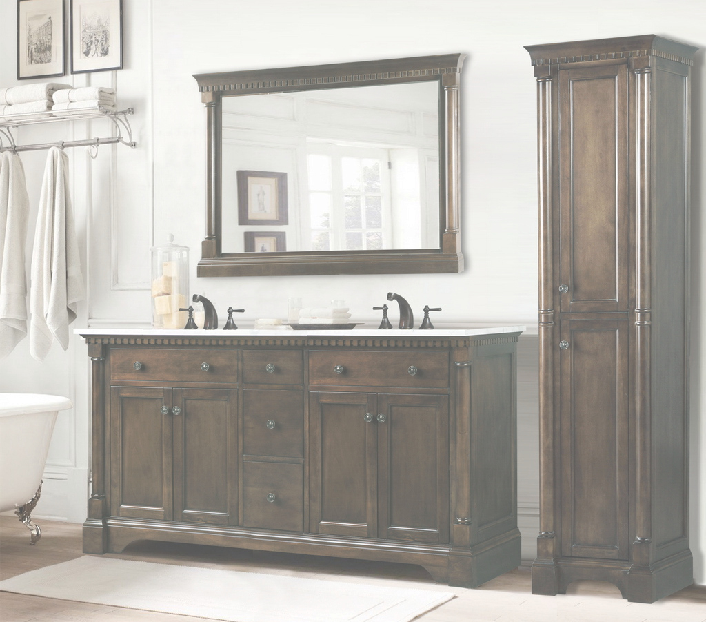 Fabulous Free Standing Bathroom Vanities Awesome Homeclick Intended For 23 within Unique Free Standing Bathroom Vanity