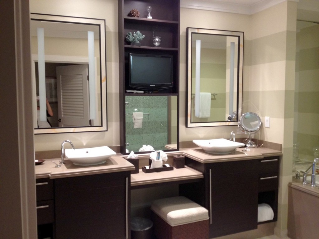 Fabulous Furniture : Bathroom Modern Master Double Vanities With Make Up with regard to Master Bathroom Vanity