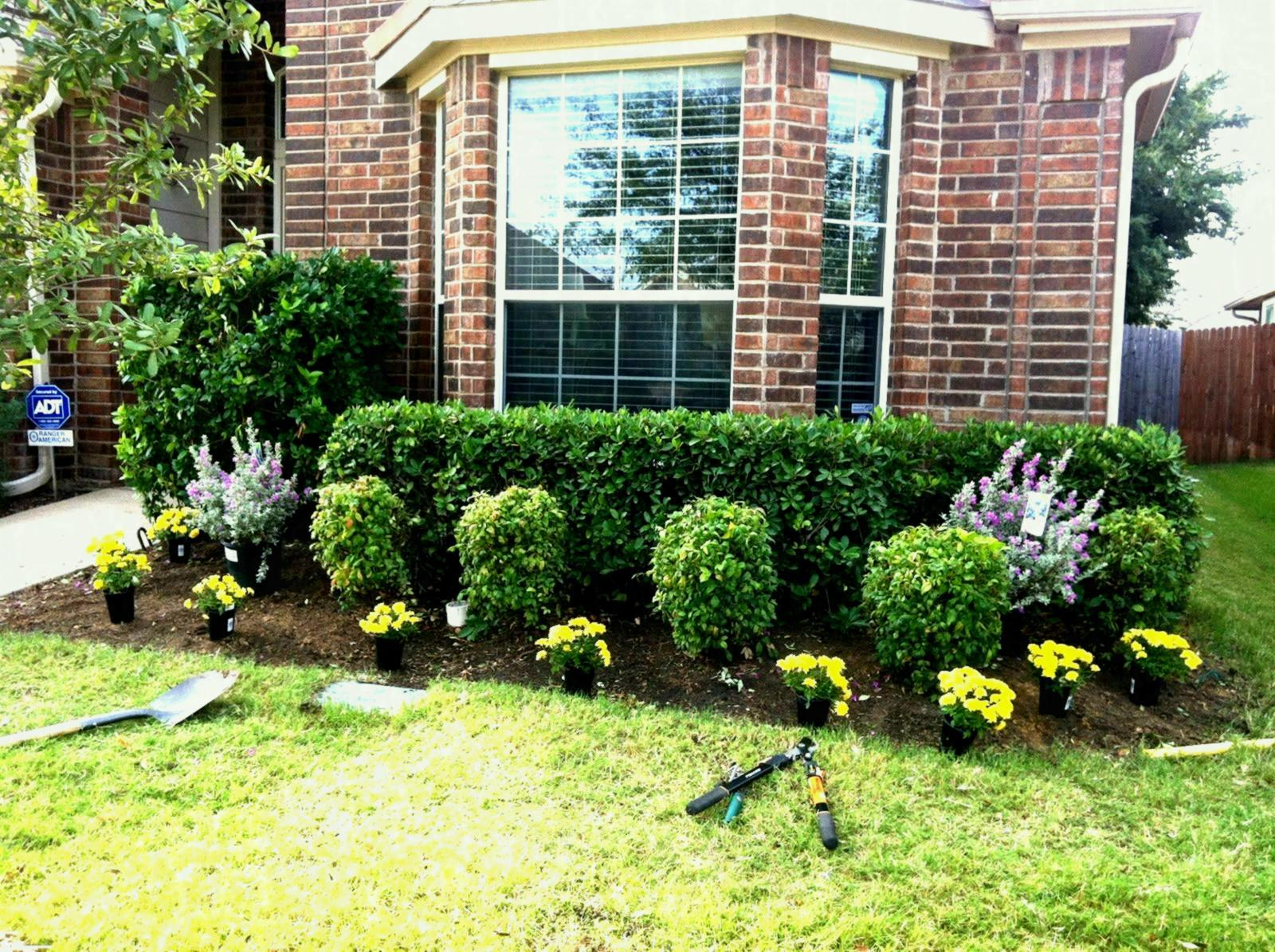 Fabulous Garden Ideas : Vinyl Edging Gardens Houston Landscaping Gallery regarding Awesome Richard's Total Backyard Solutions