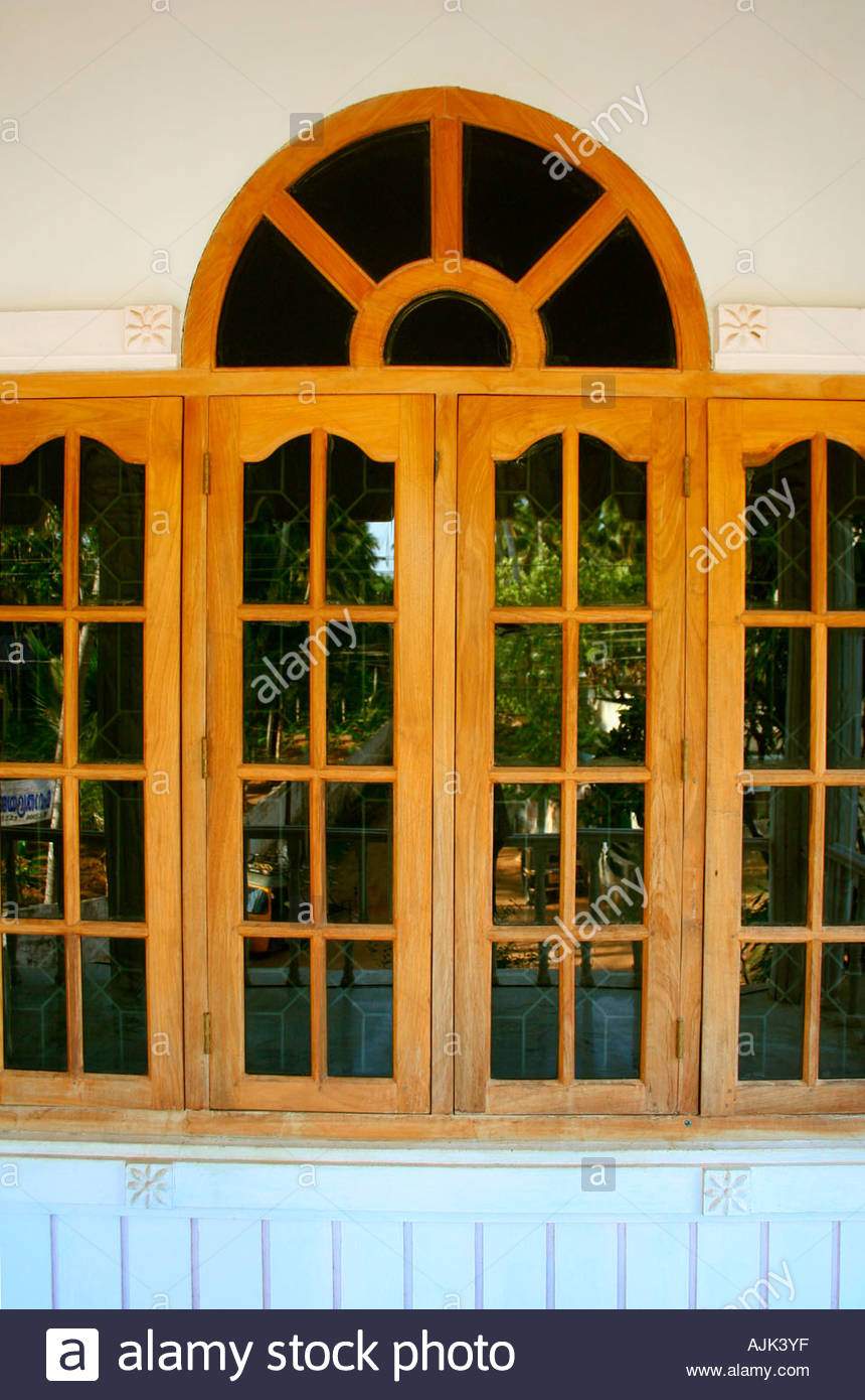 Fabulous Glass Windows Of A Modern House, Kerala Stock Photo: 8432126 - Alamy pertaining to Window Design Pictures