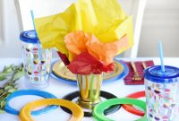 Fabulous Go For The Gold With An Olympics-Themed Kids Party – Project Nursery within Olympic Themed Decorations