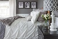 Fabulous Gorgeous Gray-And-White Bedrooms | Pinterest | Bedrooms, Gray And inside Inspirational Bedroom Gray