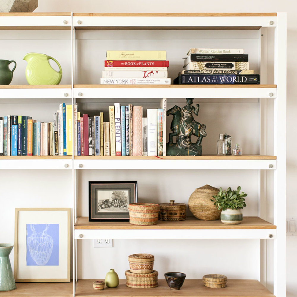 Fabulous Great Shelf Ideas - Sunset Magazine intended for Fresh Living Room Shelving