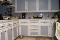 Fabulous Grey And White Painted Kitchen Cabinets | Kitchen Forniture And inside Fresh Grey And White Kitchen Cabinets