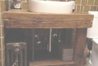 Fabulous Hand Crafted Rustic Bath Vanity – Reclaimed Barnwoodintelligent pertaining to Bathroom Vanity Rustic