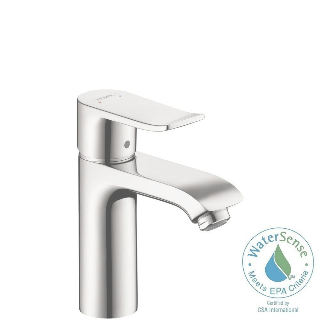Fabulous Hansgrohe Metris Single Hole 1-Handle Low-Arc Bathroom Faucet In in Hansgrohe Bathroom Faucet