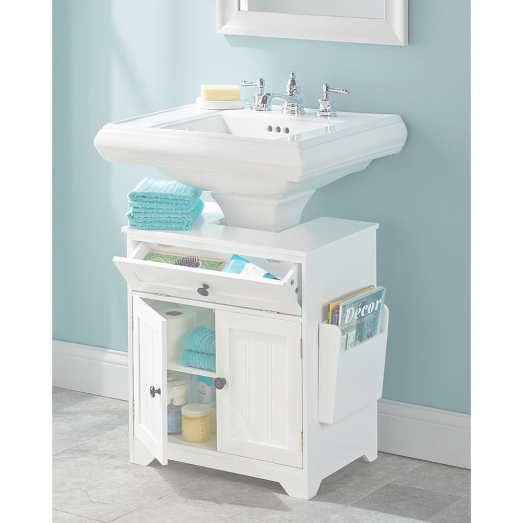 Fabulous Home ~ Bathroom Pedestal Sink Storage Cabinet Awesome 1000X1000H for Luxury Bathroom Pedestal Sink Storage Cabinet