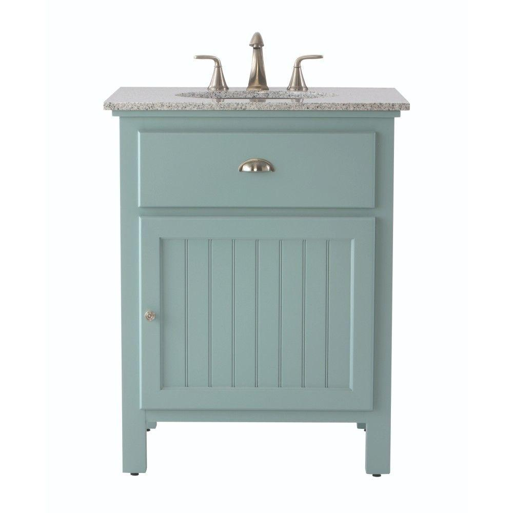 Fabulous Home Decorators Collection Ridgemore 28 In. W X 22 In. D Bath Vanity throughout Home Depot Vanities For Bathrooms