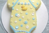 Fabulous Homemade Baby Shower Cakes For Girls – Baby Shower Cakes with How To Make A Baby Shower Cake
