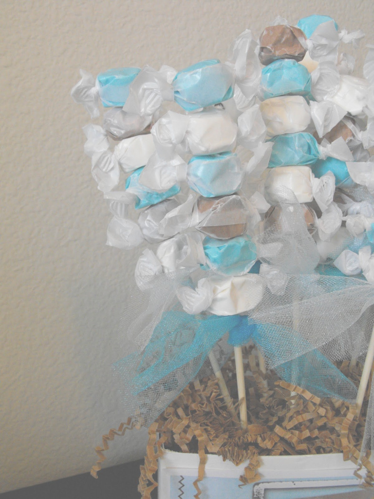 Fabulous Homemade Baby Shower Centerpieces | Little Of This, A Little Of That inside Homemade Baby Shower Decorations
