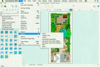 Fabulous House And Garden Design Software For Mac Fresh Garden Design Drawing regarding Landscape Drawing Software