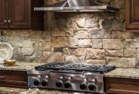 Fabulous How To Install A Stone Backsplash | E-Bit intended for Unique How To Install Stone Backsplash