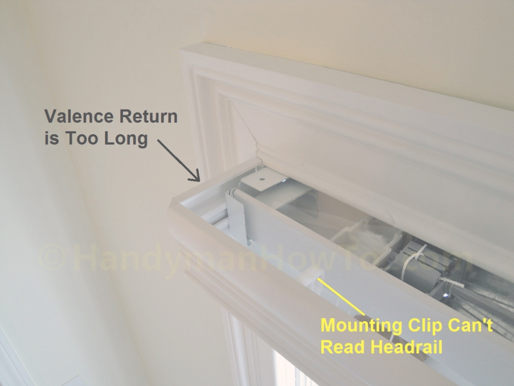 Fabulous How To Install Faux Wood Window Blinds Handymanhowto Within Inside Mount Ideas House Generation