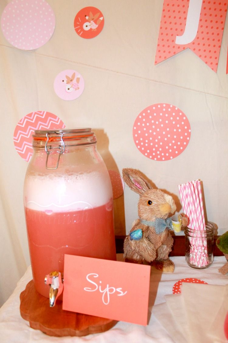 Fabulous How To Make Pink Baby Shower Punch - Simply Southern Mom regarding Beautiful Punch Recipes For Baby Shower