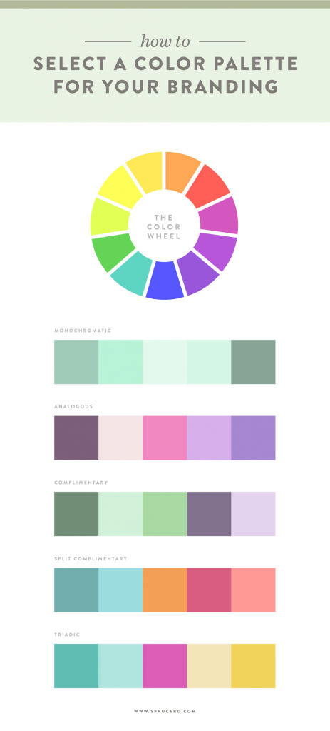 Fabulous How To Select A Color Palette For Your Branding — Spruce Rd. throughout Branding Color Schemes