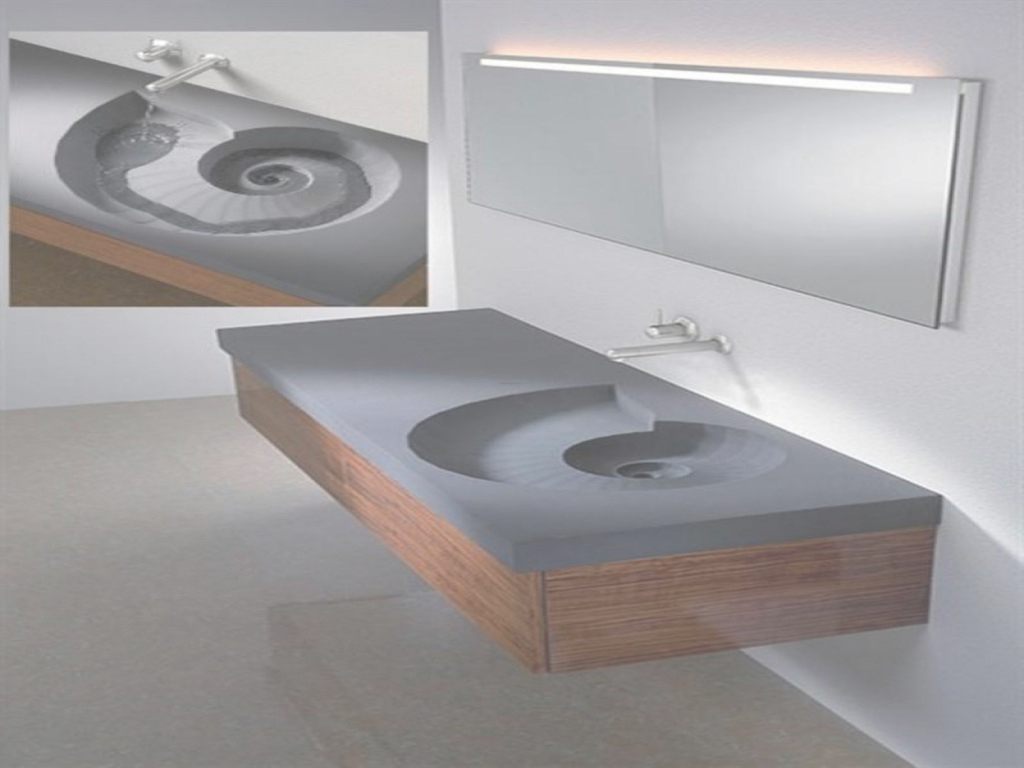 Fabulous Inspiring Floating Bathroom Vanity : Top Bathroom - Floating pertaining to Review Floating Bathroom Sink