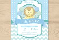 Fabulous Invitación Baby Shower Niño Niña Personalizadas Leon – $ 9.99 En pertaining to Good quality Invitaciones De Baby Shower Para Niño
