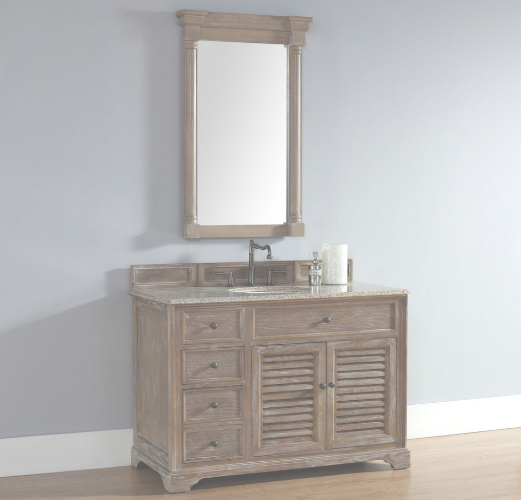 "Fabulous James Martin Savannah Collection 48"" Driftwood Single Vanity pertaining to Fresh James Martin Bathroom Vanities"